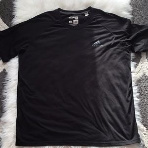 Adidas black ultimate tee for men